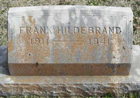 HILDEBRAND, FRANK - Benton County, Arkansas | FRANK HILDEBRAND - Arkansas Gravestone Photos