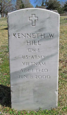 HILL (VETERAN VIET), KENNETH W - Benton County, Arkansas | KENNETH W HILL (VETERAN VIET) - Arkansas Gravestone Photos