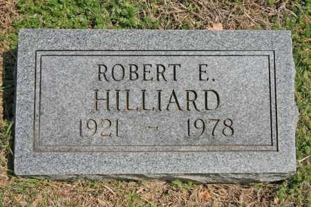 HILLIARD, ROBERT E. - Benton County, Arkansas | ROBERT E. HILLIARD - Arkansas Gravestone Photos