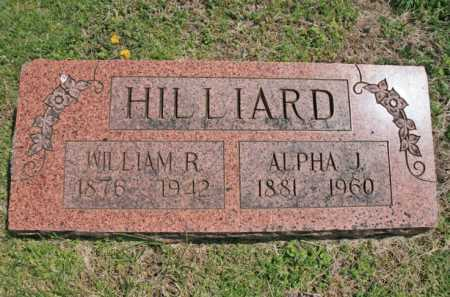 HILLIARD, ALPHA J. - Benton County, Arkansas | ALPHA J. HILLIARD - Arkansas Gravestone Photos