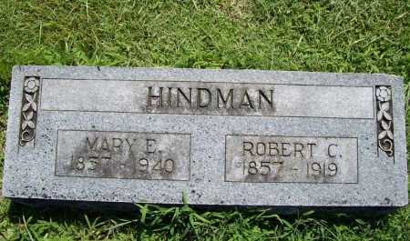 HINDMAN, MARY E. - Benton County, Arkansas | MARY E. HINDMAN - Arkansas Gravestone Photos