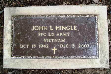 HINGLE (VETERAN VIET), JOHN L. - Benton County, Arkansas | JOHN L. HINGLE (VETERAN VIET) - Arkansas Gravestone Photos