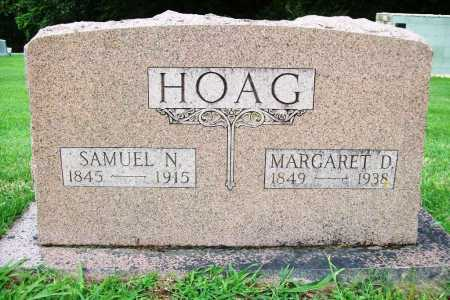 HOAG, MARGARET D. - Benton County, Arkansas | MARGARET D. HOAG - Arkansas Gravestone Photos