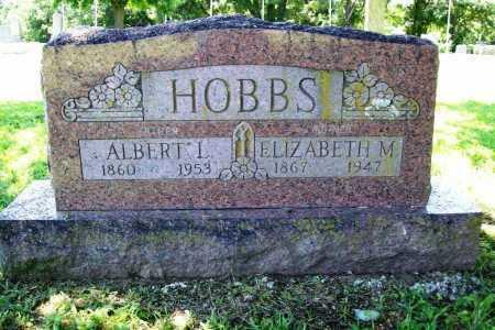 HOBBS, ELIZABETH M. - Benton County, Arkansas | ELIZABETH M. HOBBS - Arkansas Gravestone Photos