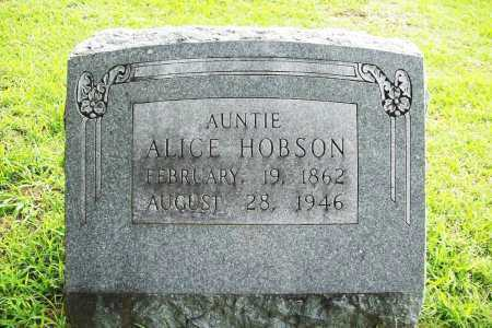 HOBSON, ALICE - Benton County, Arkansas | ALICE HOBSON - Arkansas Gravestone Photos