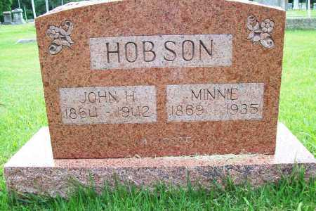 HOBSON, MINNIE - Benton County, Arkansas | MINNIE HOBSON - Arkansas Gravestone Photos