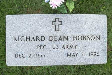 HOBSON (VETERAN), RICHARD DEAN - Benton County, Arkansas | RICHARD DEAN HOBSON (VETERAN) - Arkansas Gravestone Photos