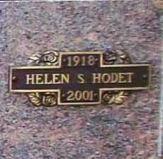 HODET, HELEN LOTTIE - Benton County, Arkansas | HELEN LOTTIE HODET - Arkansas Gravestone Photos