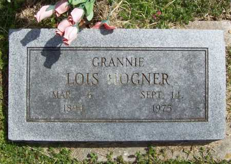 HOGNER, LOIS - Benton County, Arkansas | LOIS HOGNER - Arkansas Gravestone Photos