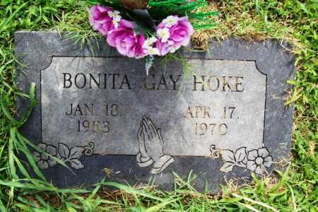 HOKE, BONITA GAY - Benton County, Arkansas | BONITA GAY HOKE - Arkansas Gravestone Photos