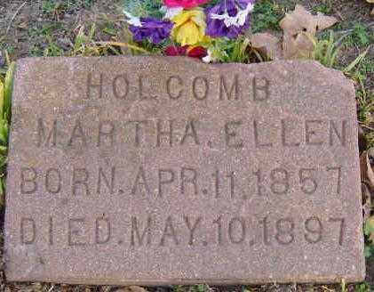 TREECE HOLCOMB, MARTHA ELLEN - Benton County, Arkansas | MARTHA ELLEN TREECE HOLCOMB - Arkansas Gravestone Photos