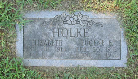 HOLKE, ELIZABETH - Benton County, Arkansas | ELIZABETH HOLKE - Arkansas Gravestone Photos