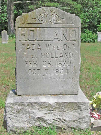 HOLLAND, ADA - Benton County, Arkansas | ADA HOLLAND - Arkansas Gravestone Photos