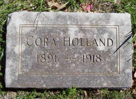 HOLLAND, CORA - Benton County, Arkansas | CORA HOLLAND - Arkansas Gravestone Photos