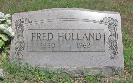 HOLLAND, FRED - Benton County, Arkansas | FRED HOLLAND - Arkansas Gravestone Photos