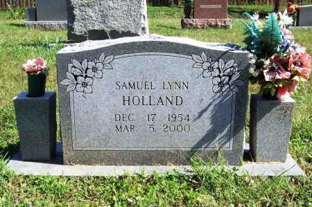 HOLLAND, SAMUEL LYNN - Benton County, Arkansas | SAMUEL LYNN HOLLAND - Arkansas Gravestone Photos