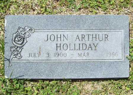 HOLLIDAY, JOHN ARTHUR - Benton County, Arkansas | JOHN ARTHUR HOLLIDAY - Arkansas Gravestone Photos
