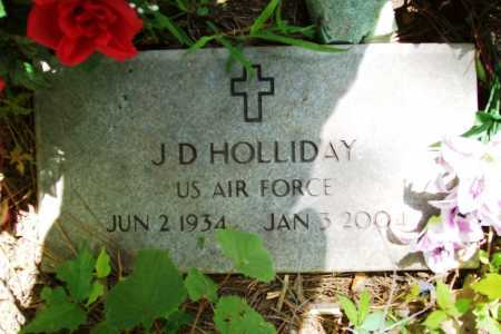 HOLLIDAY (VETERAN), J. D. - Benton County, Arkansas | J. D. HOLLIDAY (VETERAN) - Arkansas Gravestone Photos