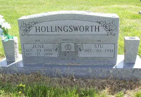 HOLLINGSWORTH, PHYLLIS JUNE - Benton County, Arkansas | PHYLLIS JUNE HOLLINGSWORTH - Arkansas Gravestone Photos