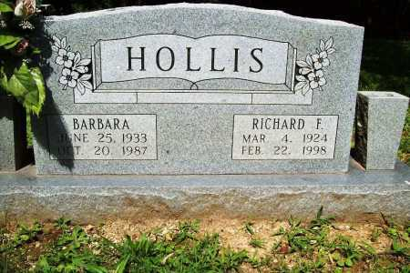 HOLLIS, RICHARD F. - Benton County, Arkansas | RICHARD F. HOLLIS - Arkansas Gravestone Photos