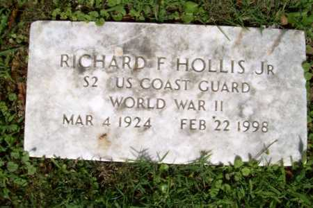 HOLLIS, JR (VETERAN WWII), RICHARD F - Benton County, Arkansas | RICHARD F HOLLIS, JR (VETERAN WWII) - Arkansas Gravestone Photos