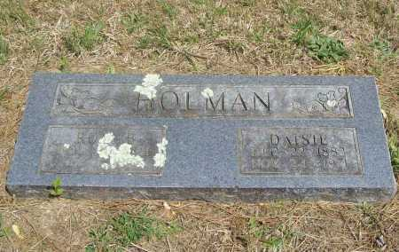 HOLMAN, DAISIE - Benton County, Arkansas | DAISIE HOLMAN - Arkansas Gravestone Photos