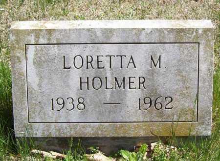 HOLMER, LORETTA M. - Benton County, Arkansas | LORETTA M. HOLMER - Arkansas Gravestone Photos