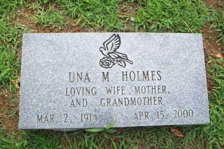 HOLMES, UNA M. - Benton County, Arkansas | UNA M. HOLMES - Arkansas Gravestone Photos