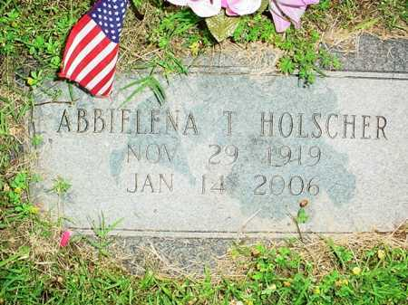 HOLSCHER, ABBIELENA T. - Benton County, Arkansas | ABBIELENA T. HOLSCHER - Arkansas Gravestone Photos