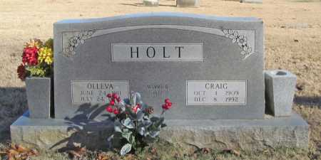 HOLT, OLLEVA - Benton County, Arkansas | OLLEVA HOLT - Arkansas Gravestone Photos