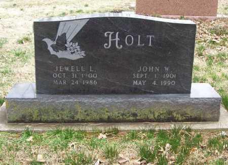 HOLT, JOHN W. - Benton County, Arkansas | JOHN W. HOLT - Arkansas Gravestone Photos