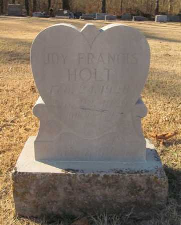 HOLT, JOY FRANCIS - Benton County, Arkansas | JOY FRANCIS HOLT - Arkansas Gravestone Photos