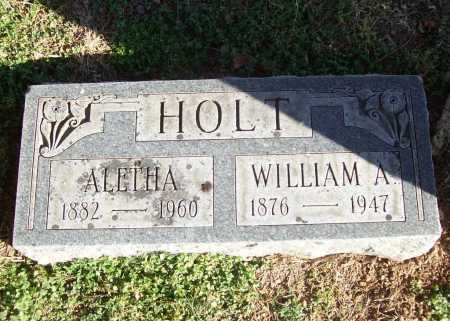 HOLT, ALETHA - Benton County, Arkansas | ALETHA HOLT - Arkansas Gravestone Photos