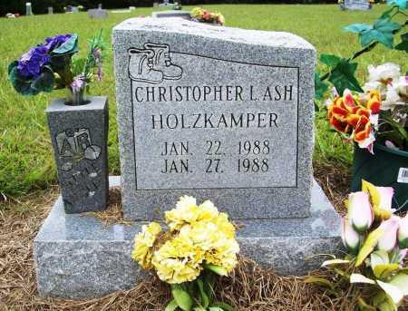 HOLZKAMPER, CHRISTOPHER L. ASH - Benton County, Arkansas | CHRISTOPHER L. ASH HOLZKAMPER - Arkansas Gravestone Photos