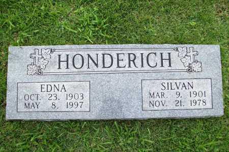 HONDERICH, SILVAN - Benton County, Arkansas | SILVAN HONDERICH - Arkansas Gravestone Photos