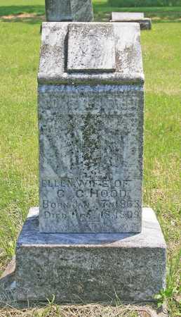 HOOD, ELLEN - Benton County, Arkansas | ELLEN HOOD - Arkansas Gravestone Photos