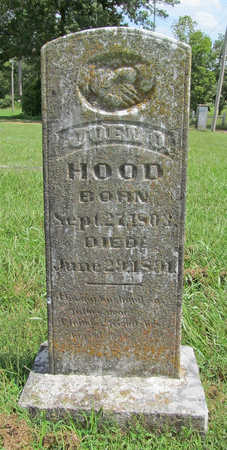 HOOD, JOEL O - Benton County, Arkansas | JOEL O HOOD - Arkansas Gravestone Photos