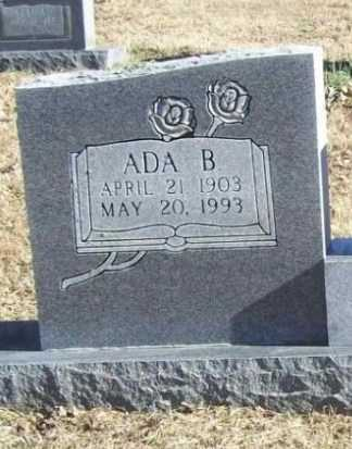 HOOG, ADA B (CLOSEUP) - Benton County, Arkansas | ADA B (CLOSEUP) HOOG - Arkansas Gravestone Photos