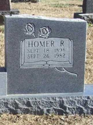 HOOG, HOMER R (CLOSEUP) - Benton County, Arkansas | HOMER R (CLOSEUP) HOOG - Arkansas Gravestone Photos
