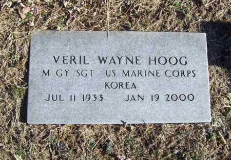 HOOG (VETERAN KOR), VERIL WAYNE - Benton County, Arkansas | VERIL WAYNE HOOG (VETERAN KOR) - Arkansas Gravestone Photos