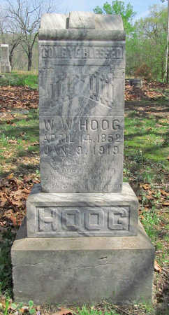 HOOG, W W - Benton County, Arkansas | W W HOOG - Arkansas Gravestone Photos