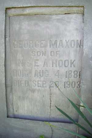 HOOK, GEORGE MAXON - Benton County, Arkansas | GEORGE MAXON HOOK - Arkansas Gravestone Photos