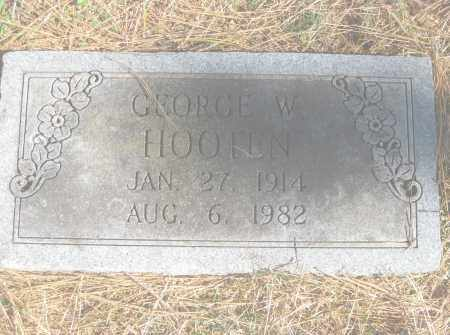 HOOTEN, GEORGE W. - Benton County, Arkansas | GEORGE W. HOOTEN - Arkansas Gravestone Photos