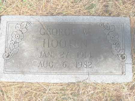 HOOTEN, GEORGE W. - Benton County, Arkansas | GEORGE W. HOOTEN - Arkansas Gravestone Photos