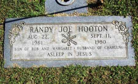 HOOTEN, RANDY JOE - Benton County, Arkansas | RANDY JOE HOOTEN - Arkansas Gravestone Photos