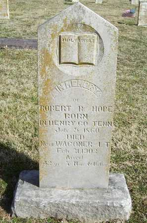 HOPE, ROBERT B - Benton County, Arkansas | ROBERT B HOPE - Arkansas Gravestone Photos