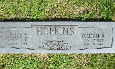 HOPKINS, WILLIAM A. - Benton County, Arkansas | WILLIAM A. HOPKINS - Arkansas Gravestone Photos