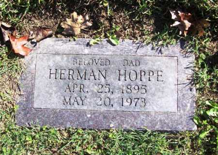 HOPPE, HERMAN - Benton County, Arkansas | HERMAN HOPPE - Arkansas Gravestone Photos