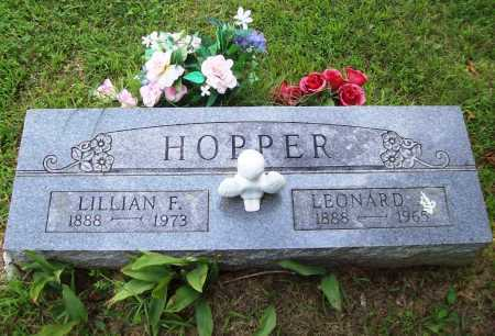 HOPPER, LILLIAN FRANCES - Benton County, Arkansas | LILLIAN FRANCES HOPPER - Arkansas Gravestone Photos