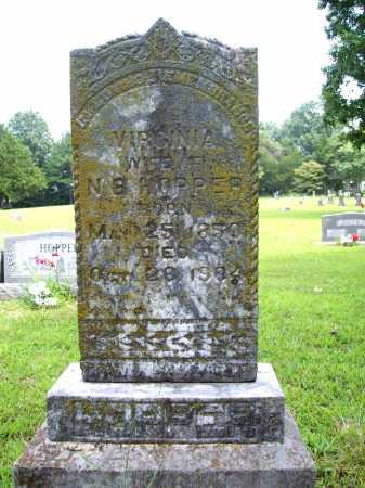 HOPPER, VIRGINIA - Benton County, Arkansas | VIRGINIA HOPPER - Arkansas Gravestone Photos